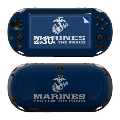 Sony PS Vita 2000 Skin - USMC Blue