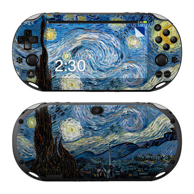 Sony PS Vita 2000 Skin - Starry Night