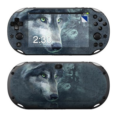 Sony PS Vita 2000 Skin - Wolf Reflection