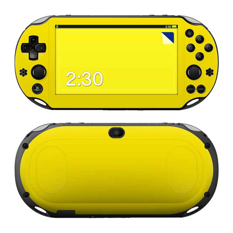 Sony PS Vita 2000 Skin - Solid State Yellow