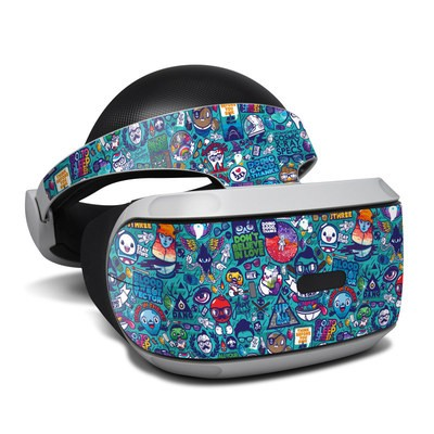 Sony Playstation VR Skin - Cosmic Ray