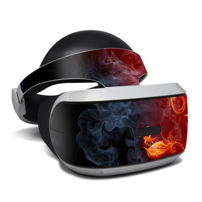 Sony Playstation VR Skin - Flower Of Fire