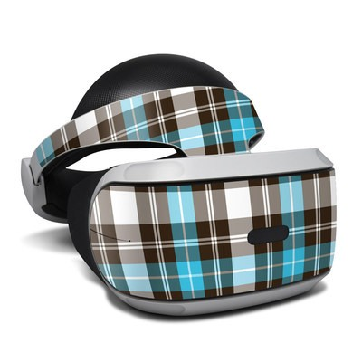 Sony Playstation VR Skin - Turquoise Plaid