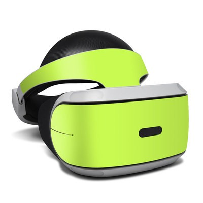 Sony Playstation VR Skin - Solid State Lime