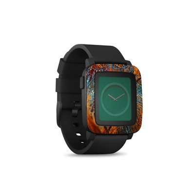 Pebble Time Smart Watch Skin - Axonal