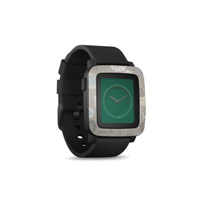 Pebble Time Smart Watch Skin - Christmas In Paris