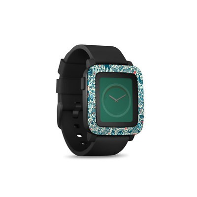 Pebble Time Smart Watch Skin - Committee