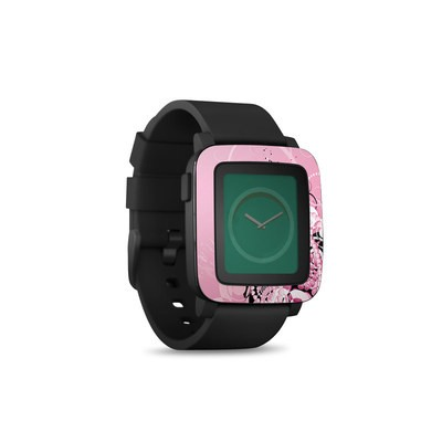 Pebble Time Smart Watch Skin - Her Abstraction