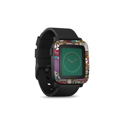 Pebble Time Smart Watch Skin - In My Pocket