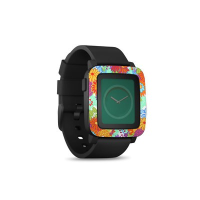 Pebble Time Smart Watch Skin - Jubilee Blooms