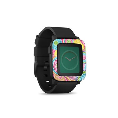 Pebble Time Smart Watch Skin - Kyoto Springtime