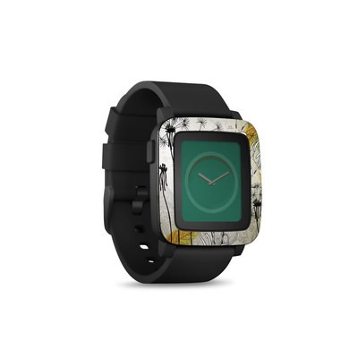 Pebble Time Smart Watch Skin - Little Dandelion