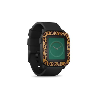 Pebble Time Smart Watch Skin - Leopard Spots