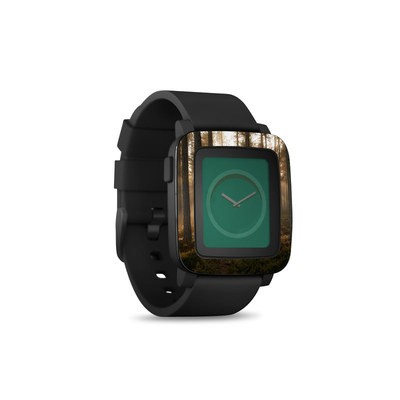 Pebble Time Smart Watch Skin - Misty Trail