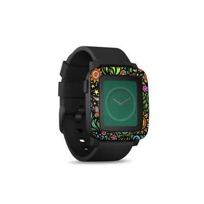 Pebble Time Smart Watch Skin - Nature Ditzy