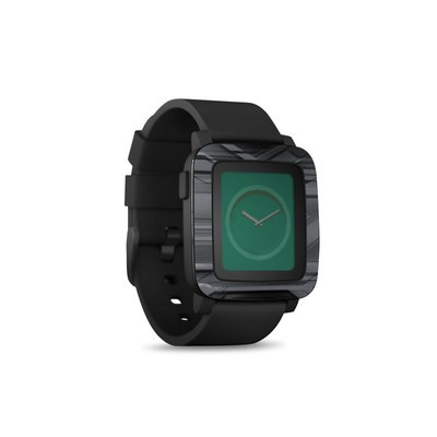 Pebble Time Smart Watch Skin - Plated