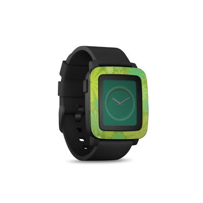 Pebble Time Smart Watch Skin - Lime Punch