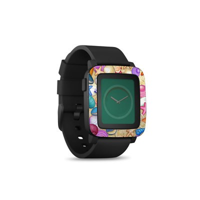 Pebble Time Smart Watch Skin - Shells