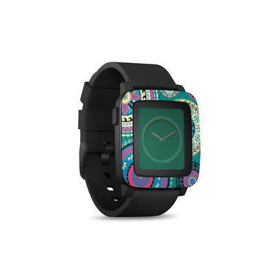 Pebble Time Smart Watch Skin - Silk Road