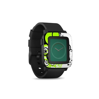 Pebble Time Smart Watch Skin - Simply Green