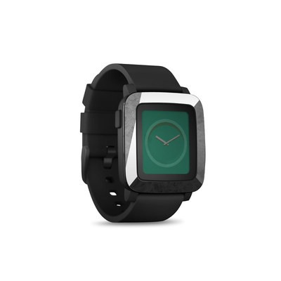 Pebble Time Smart Watch Skin - Slate