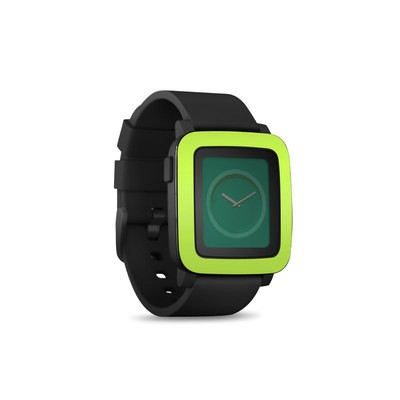 Pebble Time Smart Watch Skin - Solid State Lime