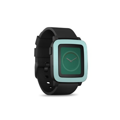 Pebble Time Smart Watch Skin - Solid State Mint