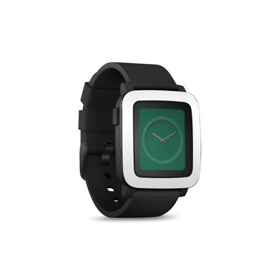 Pebble Time Smart Watch Skin - Solid State White