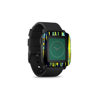 Pebble Time Smart Watch Skin - Sun Beam