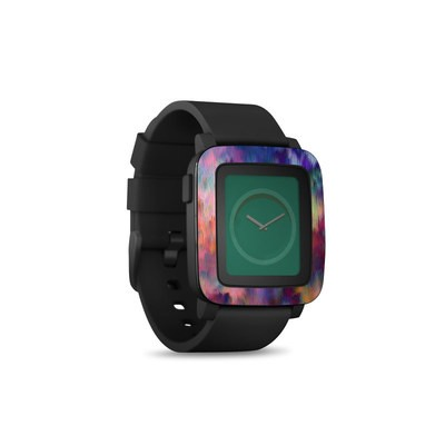 Pebble Time Smart Watch Skin - Sunset Storm