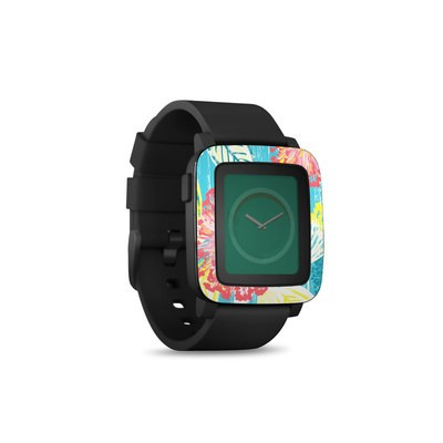 Pebble Time Smart Watch Skin - Tickled Peach