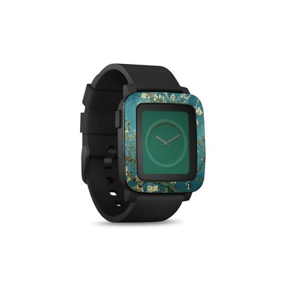 Pebble Time Smart Watch Skin - Blossoming Almond Tree