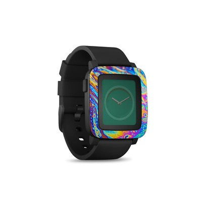 Pebble Time Smart Watch Skin - World of Soap