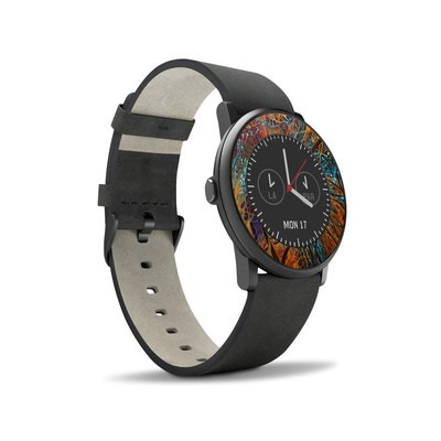 Pebble Time Round Skin - Axonal
