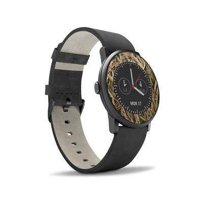 Pebble Time Round Skin - Shadow Grass Blades