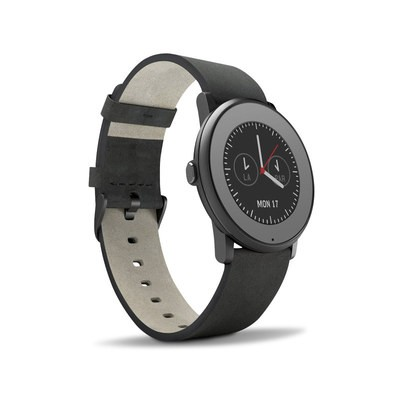 Pebble Time Round Skin - Solid State Grey