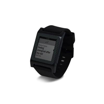 Pebble 2 SE Smart Watch Skin - Carbon