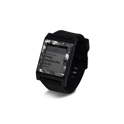 Pebble 2 SE Smart Watch Skin - Digital Urban Camo