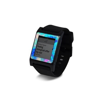 Pebble 2 SE Smart Watch Skin - Electrify Ice Blue