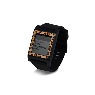 Pebble 2 SE Smart Watch Skin - Leopard Spots