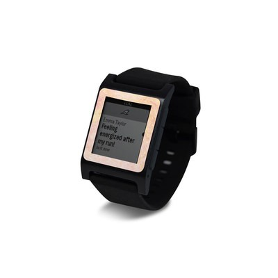 Pebble 2 SE Smart Watch Skin - Rose Gold Marble