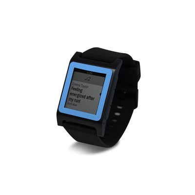 Pebble 2 SE Smart Watch Skin - Solid State Blue