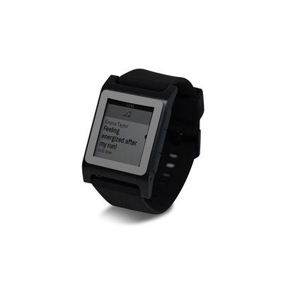Pebble 2 SE Smart Watch Skin - Solid State Grey