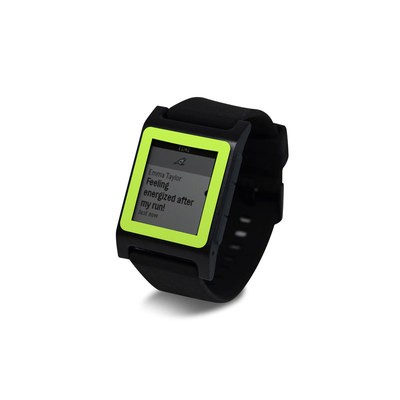 Pebble 2 SE Smart Watch Skin - Solid State Lime