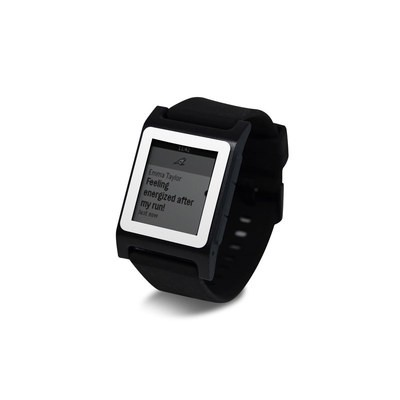 Pebble 2 SE Smart Watch Skin - Solid State White