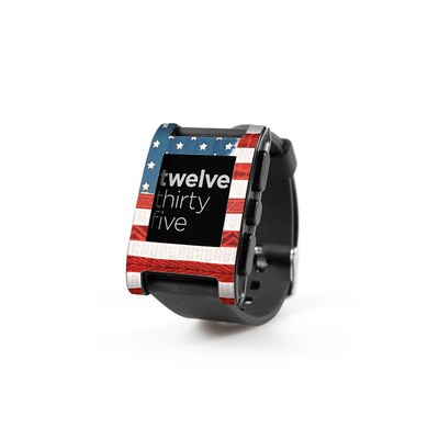 Pebble Watch Skin - American Tribe