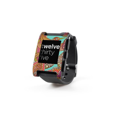 Pebble Watch Skin - Bird In Paradise