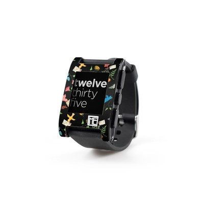 Pebble Watch Skin - Birds