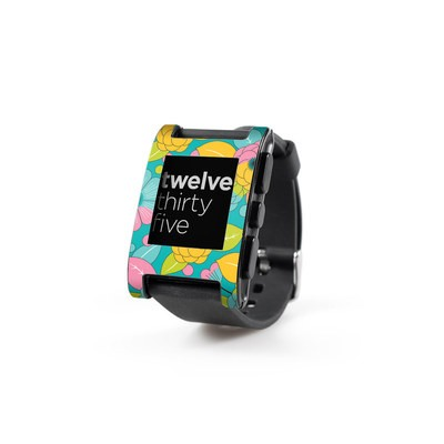 Pebble Watch Skin - Blossoms