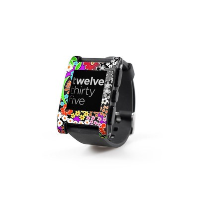 Pebble Watch Skin - A Burst of Color